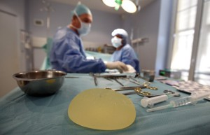 A Defective breast implant manufactured by French Company