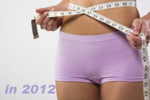 losing weight in 2012