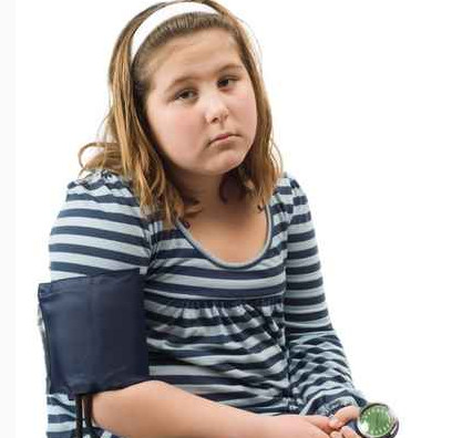 High BP common in overweight kids