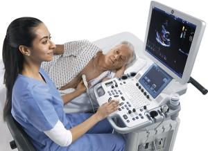 Vivid T8 cardiovascular ultrasound device
