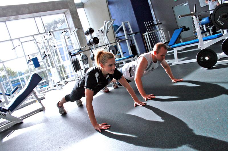 Gyms training