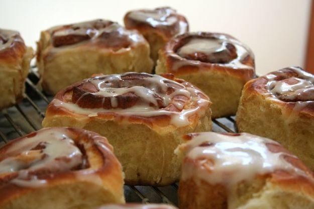 Mmm cinnamon bun