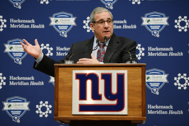 Giants GM Dave Gettleman