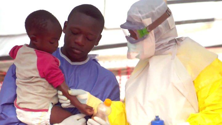 Large Ebola outbreaks